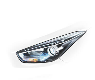Bi-Xenon headlamps with Adaptive Front Lighting System (AFLS)